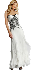 Beautiful Sensually Appealing Autumn Gown