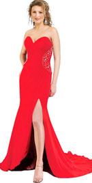 Buy Sexy And Sensuous Strapless Autumn Gown