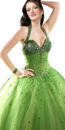 Halter Styled Ball Gown | Ball Dress