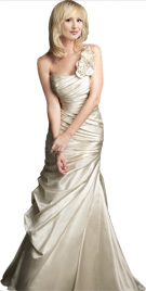 Dramatic One Shoulder Bridal Gown | Bridal Collection