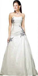 Ruche Bodice Bridal Gown | Bridal Gowns