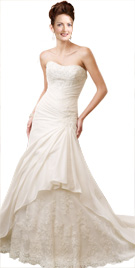 Strapless Bridal Gown | Cheap Bridal Gowns