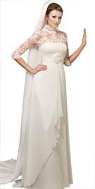 Empire Waistline Bridal Dress | Bridal Gowns