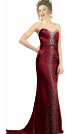 Real Fashioned Prom Gown