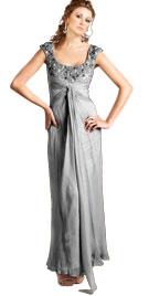 U-Neckline Valentines Day Gowns | Online Valentine Day Gown