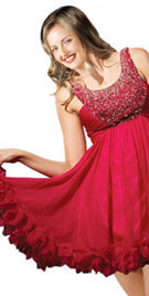 Short Beaded Christmas Dress | Christmas Shopping