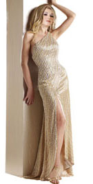 One Shoulder Xmas Gown   Xmas Dresses  Xmas Shopping
