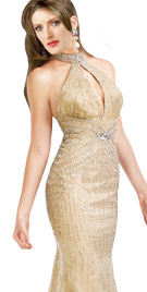 Gorgeously Sequined Festive Gown |Christmas Dresses
