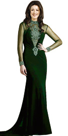 Embroidered Easter Gown   Buy Online Easter Dresses