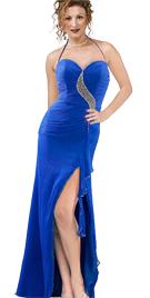 Royal blue Valentines Day dress