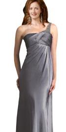 One Shoulder Sheath Dress   Evening Dressses