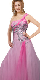 Magnificent One Shoulder Gown | Fall Collection 2010