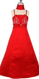 A-line Flower Girl Dress