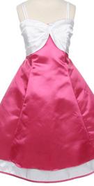 Flowergirl dresses - Double strap flower girl dress