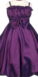 Ruching Bodice Flower Girl Dress