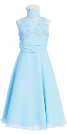 Stupefying Long Flower Girl Dress