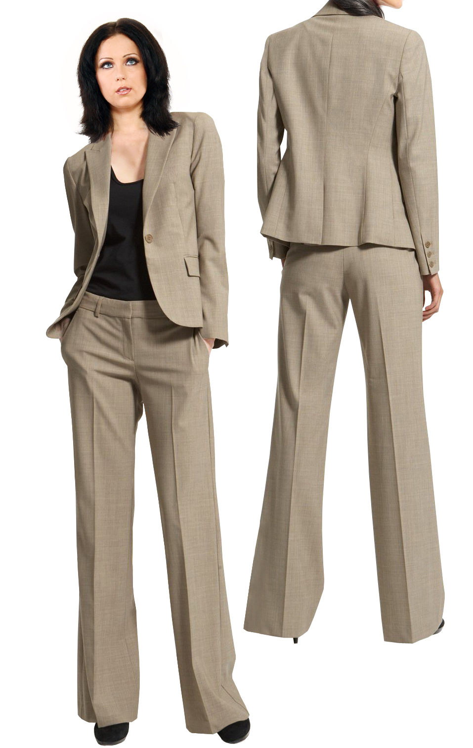 Buy Online One Button Office Pant Suit