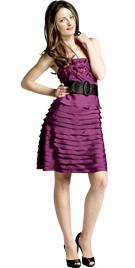 Tiered Office Dresses | Womens Short Office Dress