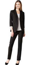 Online Formal Pant Suits | Three Buttons Womens Pant Suit