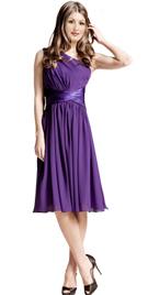 One Shoulder Womens Office Dress | One Shoulder Short Formal Dresses