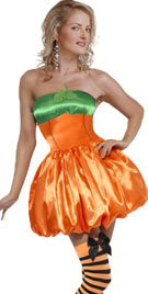 Halloween Pumpkin Style Dress