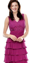 Splendid Multi Tiered Dress   Thanksgiving Collection 2010