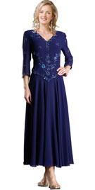 Embroidery Designed Homecoming Dress