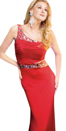Ruched Bodice Evening Gown | Evening Gown Collection 2010