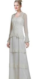 Sophisticated Mother Of The Bride Dress