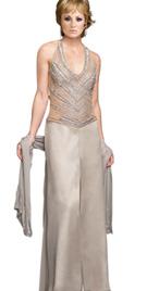 Buy Online Embellished Bodice Mother Of The Bride Attire