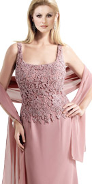 Sleeveless Mother Of Bride Gown | Wedding Collection 2010
