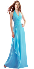 Halter Neckline Womens Day Gown | Womens Day Collection