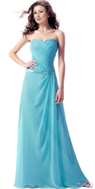 Women Day Gowns and Dresses | Gathered Bodice Womens Day Dress