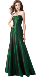 Flared Womens Day Gown   Women gowns