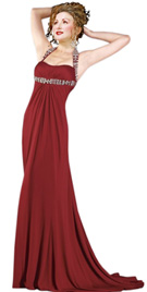 Empire Waist Womens day Gown | Women Gowns