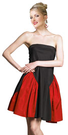 Strapless Short New Year Party Dress