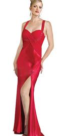 Bias Cut Alluring Prom Dress
