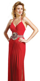 Beaded Halter Prom Gowns | Prom Dress