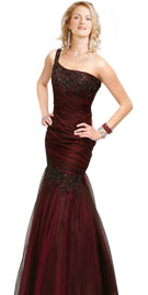 One Shoulder Prom Gown | 2010 Stylish Prom Dresses