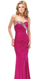 Sweetheart Neckline Prom Gown | 2010 Prom Dresses