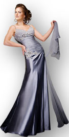 Beaded This Strapless Prom Gown