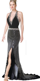 Buy Magnificent Beaded Evening Dress