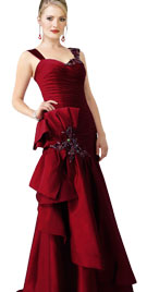 Fabulous Gown With Ruffles