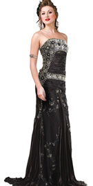 Gorgeous Elaborated Red Carpet Gown