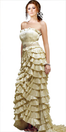 Ravishing Multi Tiered Dress | Red Carpet Dresses