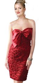 Bow Tie Up Sheath Dress   Sex And City The Dresses