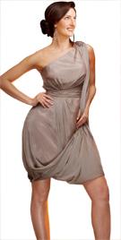 Sensual Drape Effect Evening Dress   Sex And The City Fashion