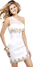 One Shouldered Amazing Summer Dress
