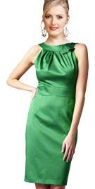 St Patrick Day Outfits | Sleeveless Green Dress