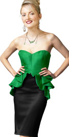 Astounding Strapless One Piece Dress